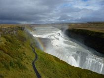 Gullfoss, Reise: Durch den Westen Islands