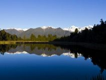 Lake Matheson, Neuseelandreise