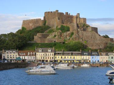Die Festung Gory auf der Kanalinsel Jersey.