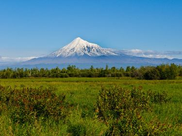 Kamtschtka Vulkan