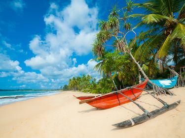 Sri Lanka Sandstrand
