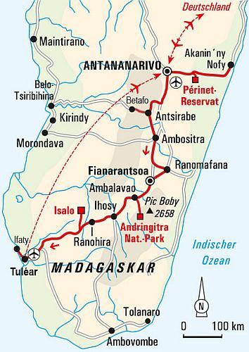 Madagaskar Karte.Abenteuerreise Erlebnisreise Madagaskar Abenteuerurlaub
