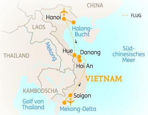 Abenteuerreise Erlebnisreise Vietnam, Abenteuerurlaub Die ...