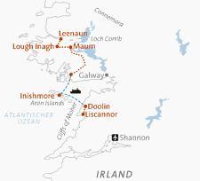 Irland Karte Europa.Irland Abenteuer Und Erlebnisreisen Europa Reisen 8 Tägige