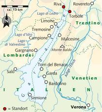 Karte Italien Gardasee.Wanderreise Am Gardasee Italien Italien Erlebnisreisen