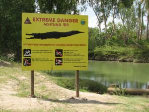 Extreme Danger Krokodile