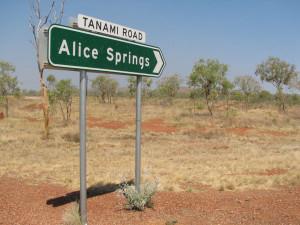 Tanami Road nach Alice Springs