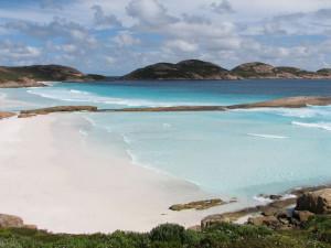 Weißer Sandstrand in Australien