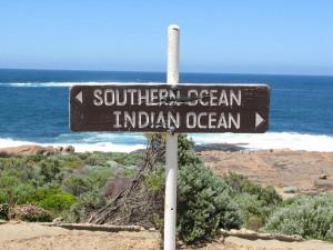 Südozean trifft Indischen Ozean