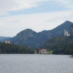 Schloss Hohenschwangau, Schloss Neuschwanstein und der Alpsee