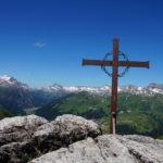 Gipfelkreuz am Wöstersattel