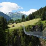 Hängebrücke am Lechweg