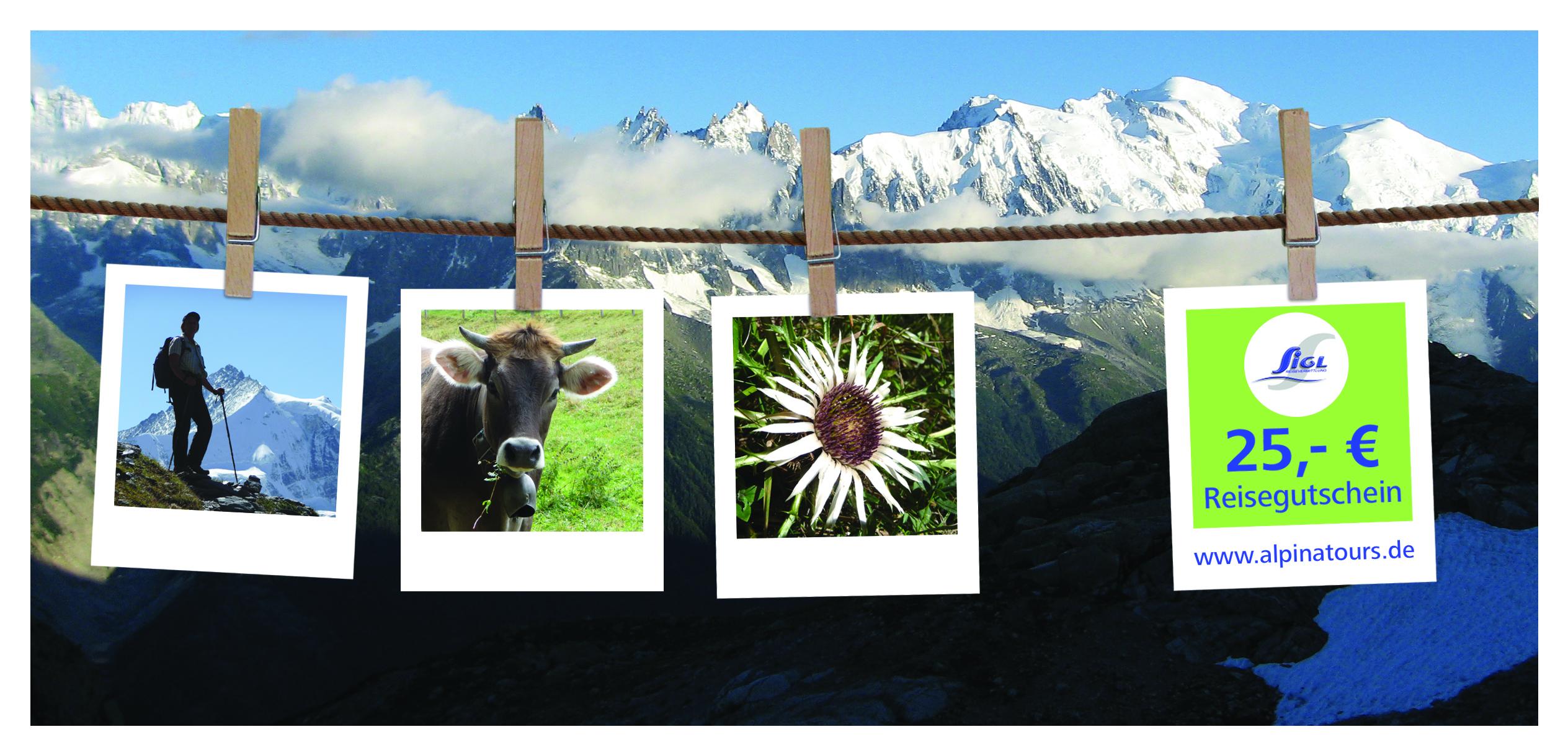 Reisegutschein Alpinatours