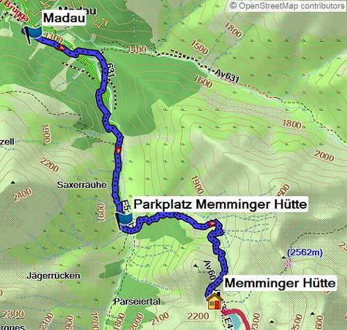 Alpenüberquerung Oberstdorf-Meran