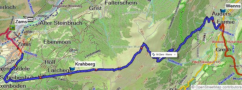 Alpenüberquerung E5 Oberstdorf-Meran