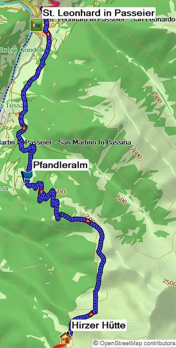 E5 Oberstdorf-Meran Alpenüberquerung