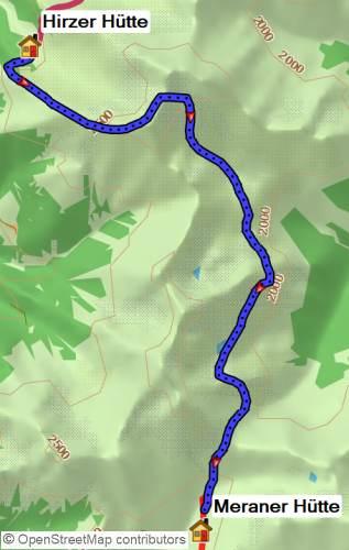 Alpenüberquerung E5 von Meran nach Bozen