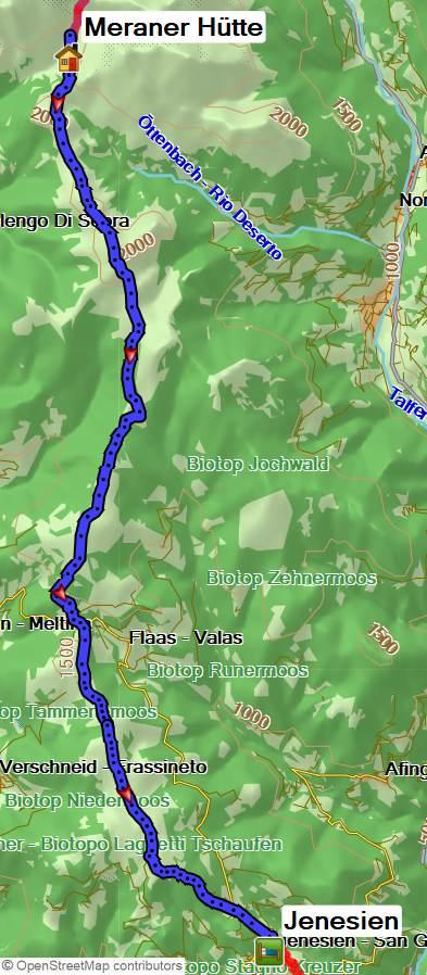 Fernwanderweg E5 über die Alpen