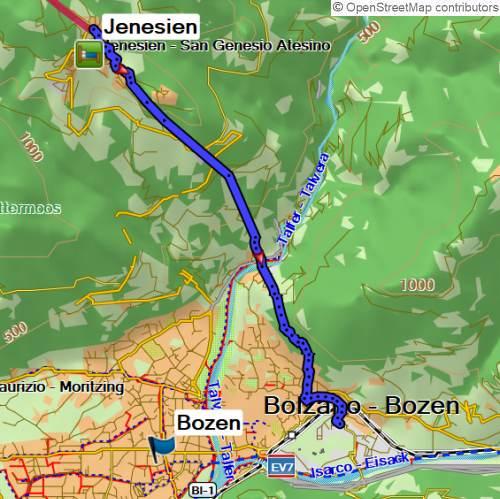 Alpenüberquerung von Oberstdorf bis Bozen auf dem E5