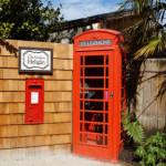 Nostalgische Telefonzelle